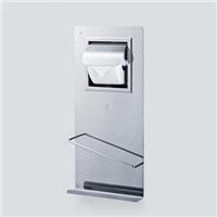 供应南韩浴室挂件卫生间带纸巾盒杂志架(R-TOTO)