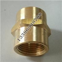 供应规格内外丝铜接头铜管箍管古空调制冷五金工程机械铜配件