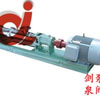 供应FG型不锈钢单螺杆泵
