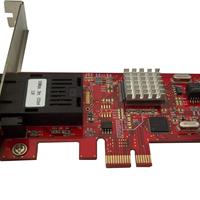 供应百兆光纤网卡PCI-E