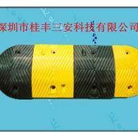 带猫眼减速带/圆型橡胶减速带/钢铸减带/深圳减速带