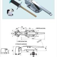 供应不锈钢冷库门锁,冷库门把手BX-1178