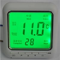 供应YK818中央空调风机盘管液晶温控器控制面板