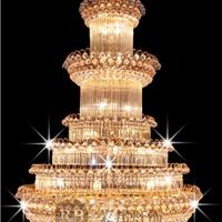 酒店工程水晶灯、客厅卧室水晶灯、家居水晶灯