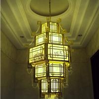 水晶灯金色水晶灯传统水晶灯酒店工程水晶灯