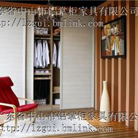供应铝材木纹衣柜
