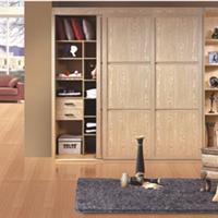 供应铝材做的木纹、0甲醛衣柜、书柜、鞋柜