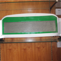 供应LED插件黄色显示屏LCD车辆调度屏 杰创越