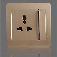 供应多功能插座带一位开关FLKL tep