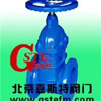 供应北京嘉斯特Z45X暗杆弹性座封闸阀球墨精铸烤漆优质产品