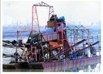 最理想 投资价值高的淘金船生产厂家 青州隆辉挖沙机械