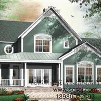 美式木别墅建造木别墅找圣安居木结构建筑公司