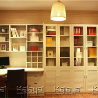厦门整体书柜 简式书柜订做加盟 找厦门卡莱雅整体衣柜订做