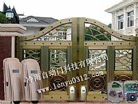 供应青岛自动庭院门机,轮式别墅遥控开门机