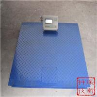 供应3T小地磅 SCS-3吨电子地磅秤资料