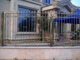 杭州铁艺围栏 厂专业订做铁艺围栏 杭州围栏 豪诚铁艺楼梯