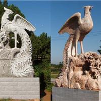 供应石雕鹰,雄鹰鹏程万里,石雕动物
