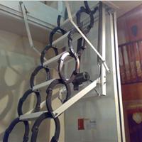 东方阁楼梯 伸缩楼梯电动款 阁楼楼梯