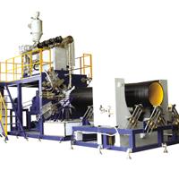 供应HDPE大口径中空壁缠绕管生产线/中空壁缠绕管设备