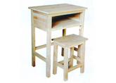 供应实木单人课桌,学生家具