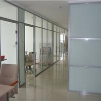 供应烟台办公隔断 玻璃隔断现代完美 诠释墙体文化