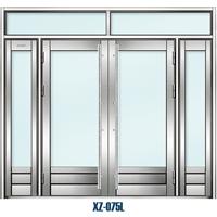 """供应""""西州牌""""304不锈钢玻璃门 店铺玻璃门免费上门安装"""