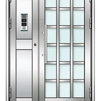 厂家直销西州牌小区对讲门楼宇门不锈钢单元门氟碳喷涂楼宇门
