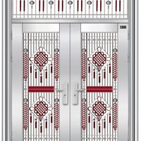 供应西州牌304不锈钢楼宇门 不锈钢玻璃门 不锈钢防盗门