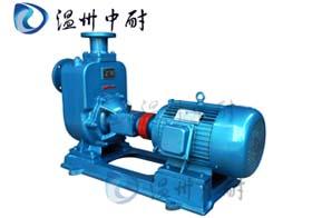 供应ZW型卧式自吸式无堵塞排污泵