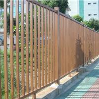 厂家销售仿木铝型材护栏仿木护栏