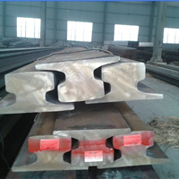 供应上海A100钢轨德标轨道钢欧标苏州