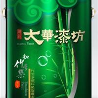 供应大华漆坊 中国十大民族涂料品牌 大华竹碳墙面漆