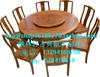 供应餐桌  仿古 明清 家具 木质桌椅  圆形餐台 餐桌椅