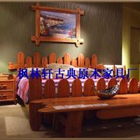 供应床 新古典 新中式 家具 简约现代 水曲柳木头家具 床类