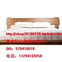 供应床 仿古 明清 家具 出口韩式床 木板高床 床头柜 特价