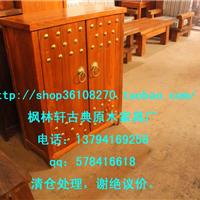 供应鞋柜 榆木 原木 全实木 创意木质超薄鞋柜 大容量 家具