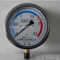 供应耐震隔膜压力表生产厂家