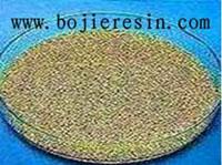 供应大孔强酸性离子交换树脂 D001