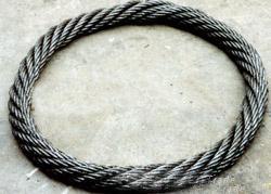 供应无接头钢丝绳,插编钢丝绳扣