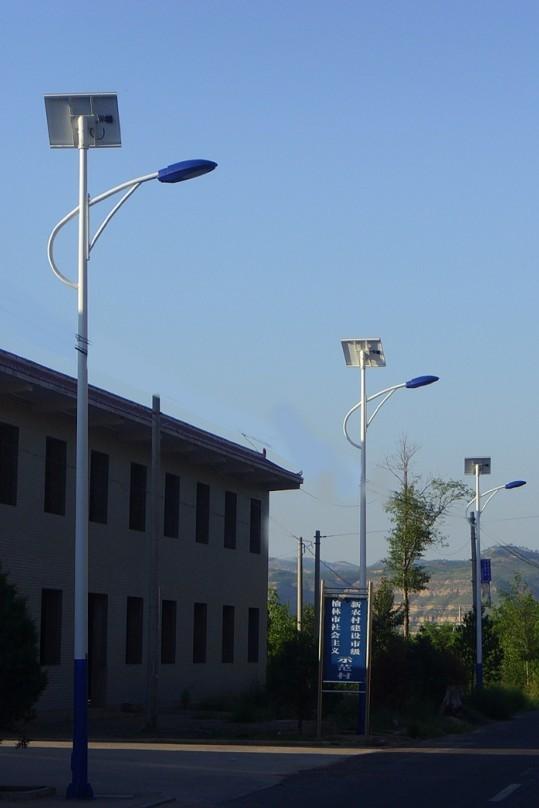 张家口张北沽源宣化太阳能路灯安装工程实例?