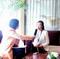 建材网采访克洛斯威硅藻泥副总经理-杨英
