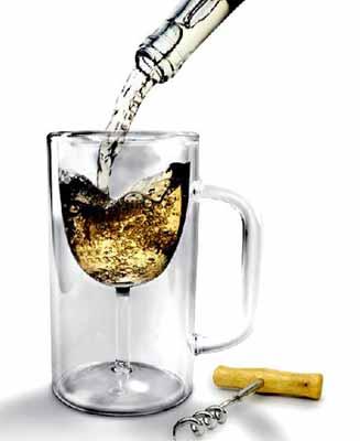 创意工艺酒具设计:杯中杯(图文)