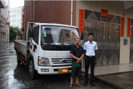 开瑞绿卡T机械设备配送用户用车报告