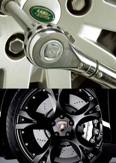 一声喀哒达到扭矩 汽车轮胎螺母紧固需注意