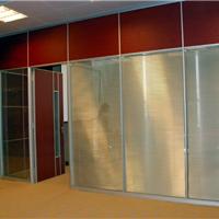 供应双层玻璃夹百叶隔断墙百叶门