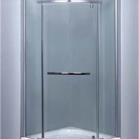 安全环保扇形推拉淋浴房