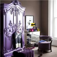 供应紫色衣柜油漆