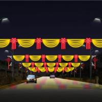 供应2013年新款灯光隧道-LED宝石星款过街灯