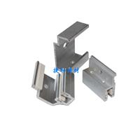 供应背栓挂件组合型铝合金平码单钩角码挂件