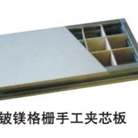江苏直供手工净化板铝蜂窝玻镁净化板